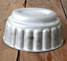 Vintage 1950s British Made Diamond Pure Aluminium Jelly Pudding Mould #2