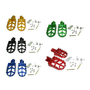 CNC Footpegs Foot Rest For 50cc-190cc Stomp WPB Orion M2R Lucky MX Pit Dirt Bike