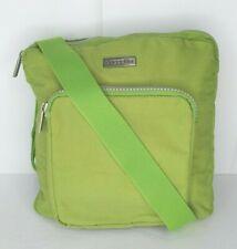 Baggallini Green Orange Shoulder Crossbody Organizer Bag