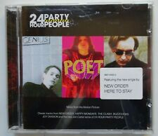 24 HOUR PARTY PEOPLE Soundtrack CD (2002) Promo Sticker - Joy Division/New Order