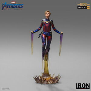 Iron Studios 1:10 MARCAS24619-10 Captain Marvel Avengers Endgame Figure Statue