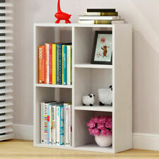 Shelving Home Office Book Shelf 5 Cube Storage Bookcase Display Wood Furniture