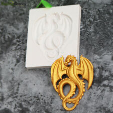 1Pcs Silicone Dragon Shaped Mold Fondant Cake Mould Chocolate Candy Bake Tool