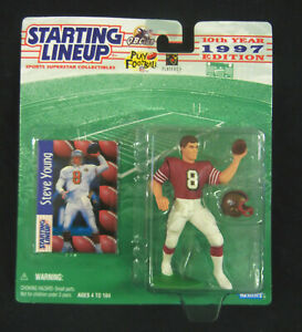 1997 Brigham Young University STEVE YOUNG : NFL San Francisco 49ers SLU Figure