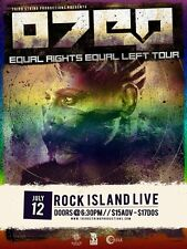 """Otep """"Equal Right Equal Left Tour"""" 2016 Wichita Concert Poster-Heavy Metal Music"""