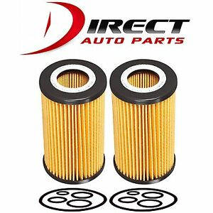 2 pack Mercedes-Benz Oil Filter OE# 1121800009, 0001802309, 6111800009