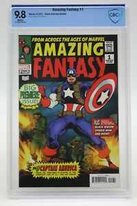 Amazing Fantasy (2021) #1 Kaare Andrews Variant CBCS 9.8 Blue Label White Pages