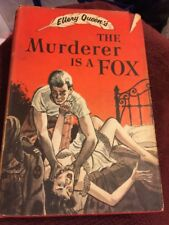 2 Ellery Queen PB's~The Four of Hearts[1943]~The Murderer is a Fox[1948]