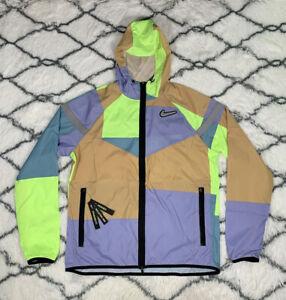 NIKE Windrunner Wild Run Full Zip Hooded Jacket Men's Sz M *NEW* CK0683-424 $120