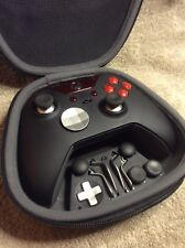 Elite Xbox One 1 Controller - Custom RED Led, Buttons, ABXY w/ Letters FREE S&H