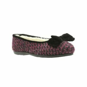 Clarks Adella Angel pink warmed ladies slippers sizes 3/35.5, 5/38 E Wider fit