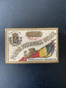 Boîte de plumes «Plume nationale Belge»