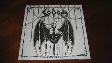 "SODOM ""Demonized"" LP   destruction kreator"
