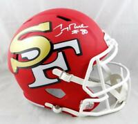 Jerry Rice #80 Signed San Francisco 49ers F/S AMP Speed Helmet- Beckett Auth
