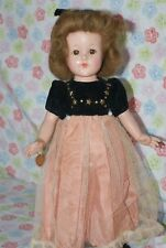 "BEAUTIFUL! Vintage 15"" Effanbee Anne-Shirley Composition Doll"