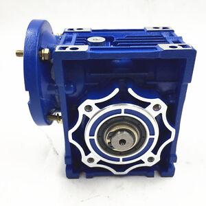 040 Worm Gear Reducer Ratio100:1 63B14 1400r/min Speed Reducer for Stepper Motor