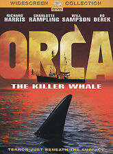 "ORCA THE KILLER WHALE(`1977)LBX ""RICHARD HARRIS"" PARAMOUNT PICTURES (DVD)"
