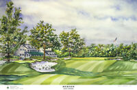 Merion Golf Club East Limited Edition Art Print Signed and Numbered by Artist