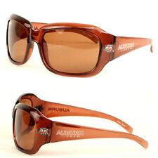 Women's NCAA  Auburn Tigers Logo Brown Polarized Sunglasses & Bag  NWT
