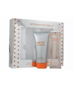 2 X BBNY Orange Femme Eau de Toilette 100ml & Body Lotion 150ml Gift Set Free📮