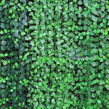 10Pcs Artificial Ivy Vine Fake Foliage Dried Flower Leaf Garland Plant Decor New