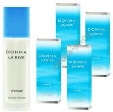 4x90ml = 360ml !!!  DONNA LA RIVE WOMAN Eau De Parfum Natural Spray TOP HIT !!!
