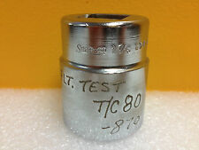 """Snap-On LDH-463  1 7/16"""", 1"""" Square Drive, 12 Point,  Shallow Socket"""