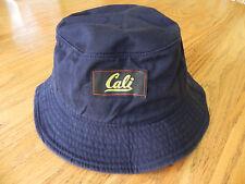 CALIFORNIA REPUBLIC NAVY BLUE FASHION VINTAGE BUCKET HAT CAP SIZE: ADULT S/M