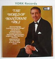 MANTOVANI - The World of Mantovani Vol 2 - Excellent Con LP Record Decca SPA 36
