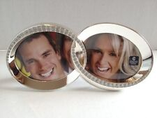 "LINKED ETERNITY RING PHOTO FRAME 3.5""X3"" PHOTOS HOLDS TWO #05-B #930140"