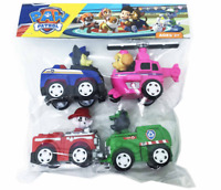 PATRULLA CANINA PACK 4 COCHES Y FIGURAS -48H-