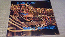 BRIAN SHARP PLAYS MAINLY HAMMOND ORGAN LP 1973 GALT MacDERMOT DRUMS PSYCH FUNK