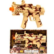 15 Inch Army Force Machine Gun Model Combat Rifle With Light&Sound Kids Toy Gun