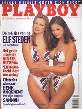 Dutch Playboy Magazine 1998-02 Jennifer Miriam, Sannah Angenent, Fryske Famkes