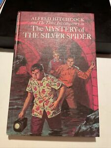 ALFRED HITCHCOCK THREE INVESTIGATORS THE MYSTERY OF THE SILVER SPIDER 1ST 1967