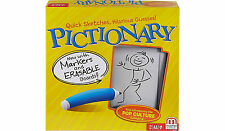 Pictionary Quick Sketch Family Fun Board Game by Mattel 2 Teams Ages 8+ NEW