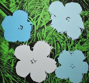 Andy Warhol-Flowers-Color Screenprint, 1964 Nouvelles Images Éditeurs, Paris