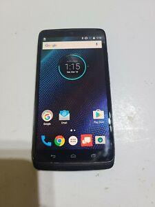 Motorola Droid Turbo XT1254, 64GB, Black, Verizon Lock, Fair Condition:AA556