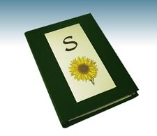 *Fathers Day* Initial & Image A5 Address Bk or Note Folder- (Images see listing)