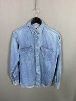 LEVI'S VINTAGE DENIM Shirt - Size Medium - Blue - Great Condition - Men's