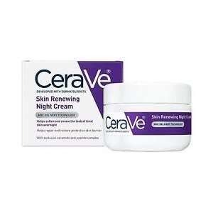 CeraVe - Skin Renewing Night Cream Skin Care Dermatologist Recommended 48g BNIB