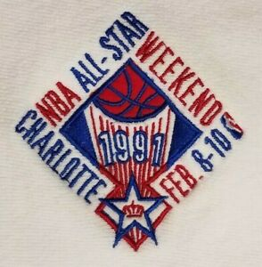 Vintage 1991 NBA All-Star Week End Sweat Shirt - Charlotte