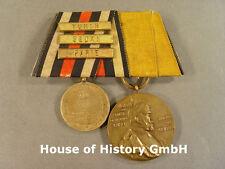 2er Ordensspange: Kriegsdenkmünze 1870/71, Wörth Sedan Paris, Centenarmed. 81572