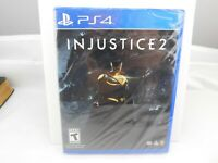 Injustice 2, Playstation 4 (PS4) 2018 *BRAND NEW, SEALED* ~ FREE US SHIPPING!