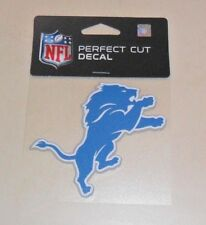 NFL DETROIT LIONS  4 X 4 DIE-CUT DECAL OFFICIALLY LICENSED PRODUCT
