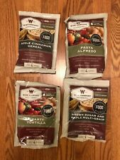 Food Supply Storage Wise Co. 4 Meals containing 4 servings each Freeze Dried MRE