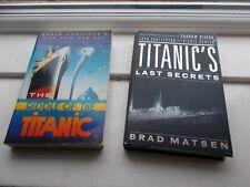 "2 x Titanic Books ""Titanic's Last Secrets"" & ""Riddles of the Titanic"""