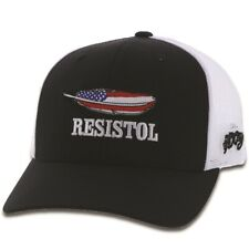 HOOEY HAT Resistol Black White Mesh Trucker 1929T-BKWH