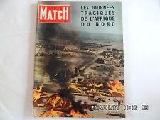 PARIS MATCH N°336 3 sept 1955 journées tragiques en Algérie bled guerre G70