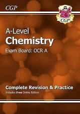 New A-Level Chemistry: OCR A Year 1 & 2 Complete Revision & Practice with Online